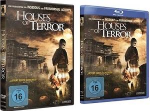 Houses of Terror DVD Blu-ray
